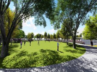 公24地下停車場新建工程上梁   聯合市民活動中心開工典禮(完工後的示意圖)