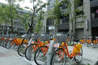 新北市推動公共運輸建置YouBike全國第一,達成YouBike400站里程碑。(圖/記者黃村杉攝)