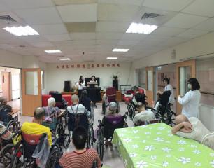 雙長笛演奏醫院快閃,朴子醫院舉辦系列中秋音樂節