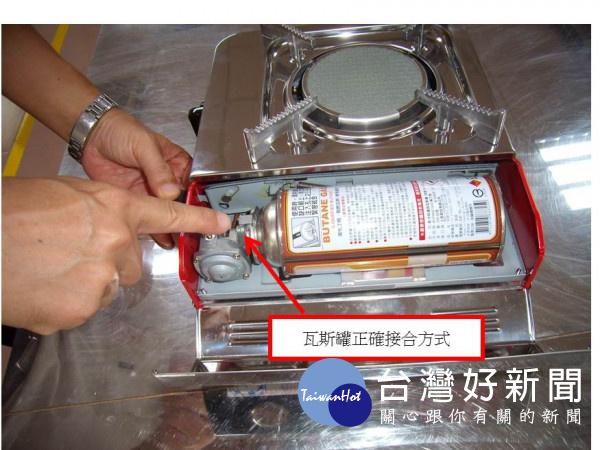 檢驗局臺南分局提供,選用攜帶式卡式爐小技巧!