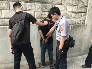 楊梅警方3度擒獲騎乘贓車之陳嫌,可謂天網恢恢,賊星該敗。