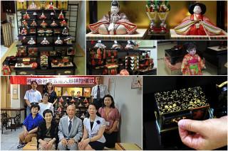 宜蘭縣日本友好交流協會獲贈全套「雛人形」。(圖/記者陳木隆攝)