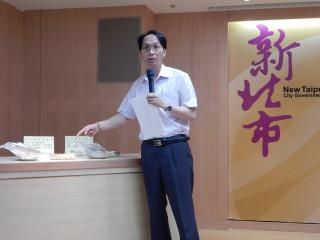 副局長許朝程指複抽後仍有2件不符規定,開罰新臺幣3萬元。(圖/記者黃村杉攝)