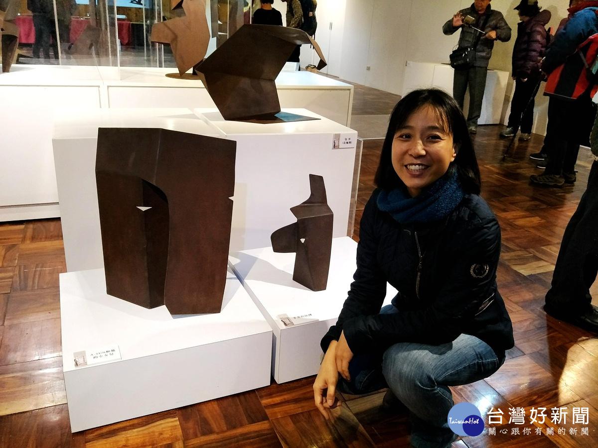 「時間囊–吳奇娜鐵雕展」 26件鐵雕創作溪頭登場
