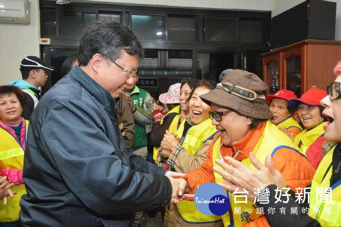 出席環保志工早餐會 鄭文燦:不分你我一同打造乾淨社區