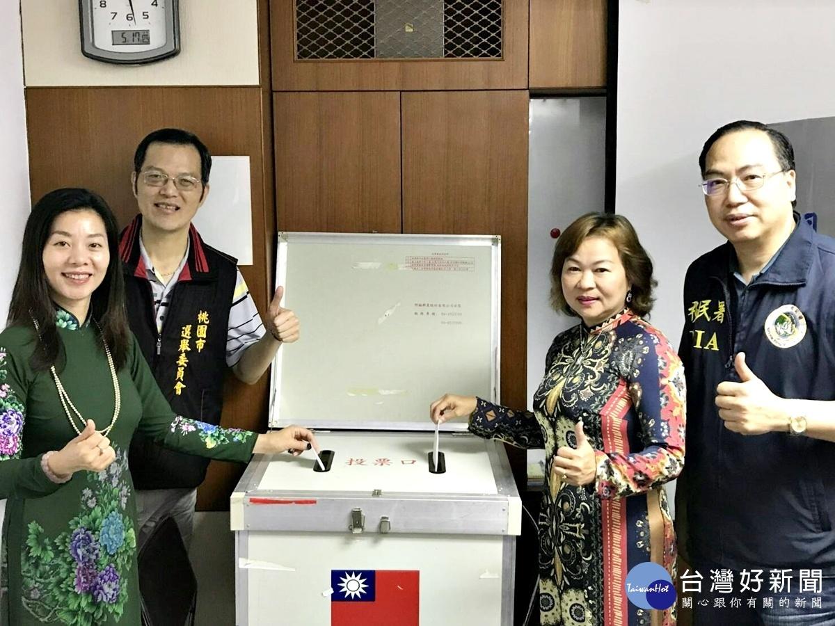 新住民模擬投票教學 幫助了解台灣選舉制度