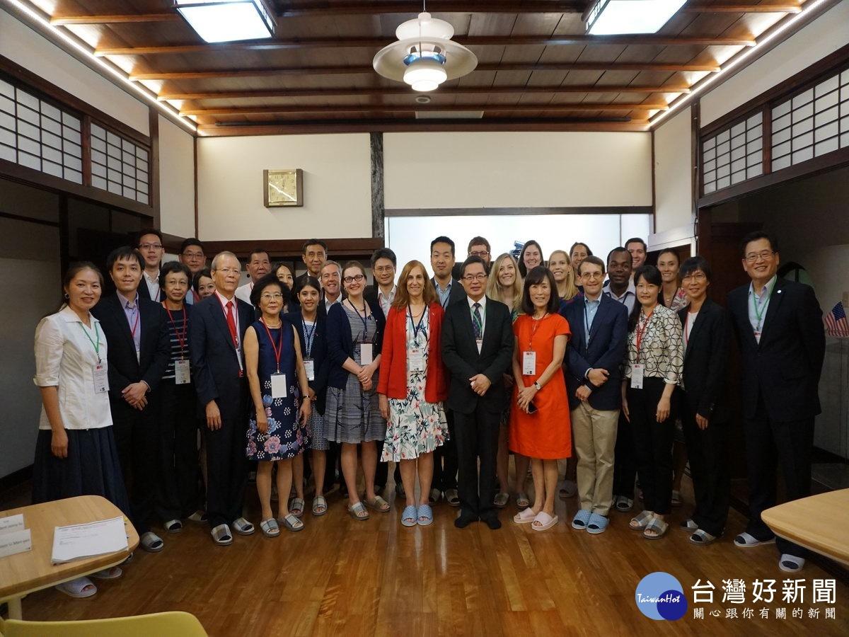 台美政策研究團訪台南 展開多面向交流
