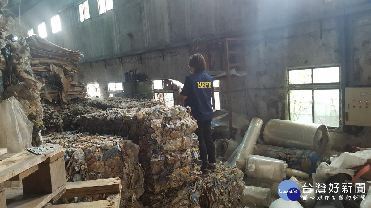 防堵產業用料洋垃圾入侵