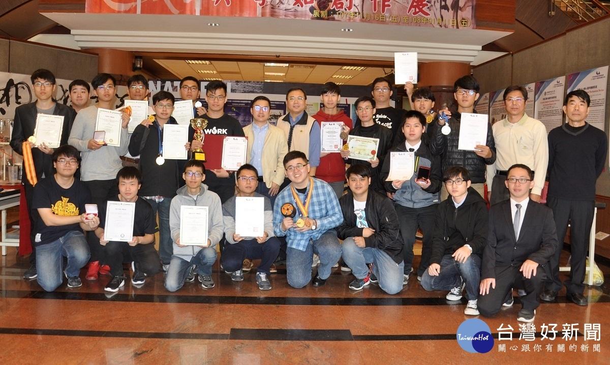 建國科大創新研發大軍征戰韓國、高雄 19個獎項金光閃閃