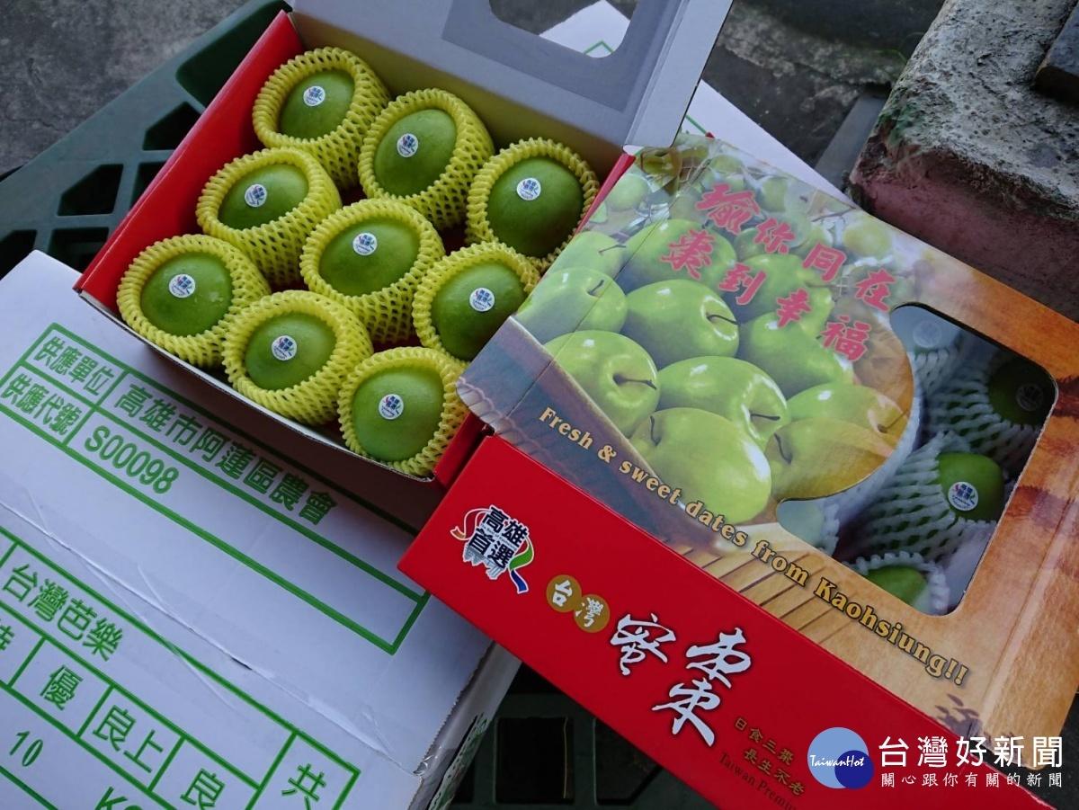 高雄頂級蜜棗銷售海外各地。(圖/高雄農業局提供)