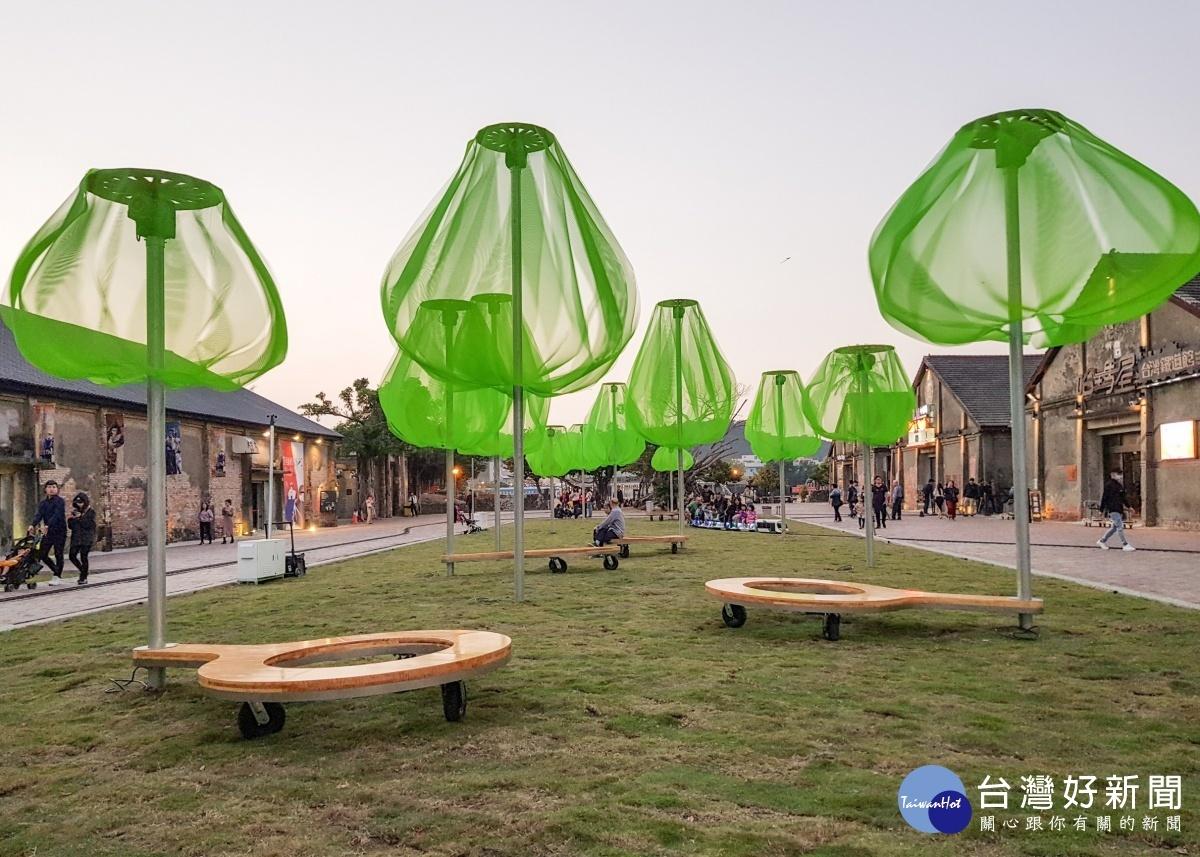 韓國新銳設計師Sooin Yang打造的全新動力裝置藝術。(圖/高雄市文化局提供)