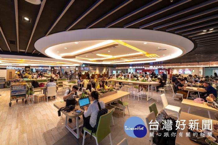 創造台灣特色 「美味旅圖」美食廣場桃機二航廈B2開幕