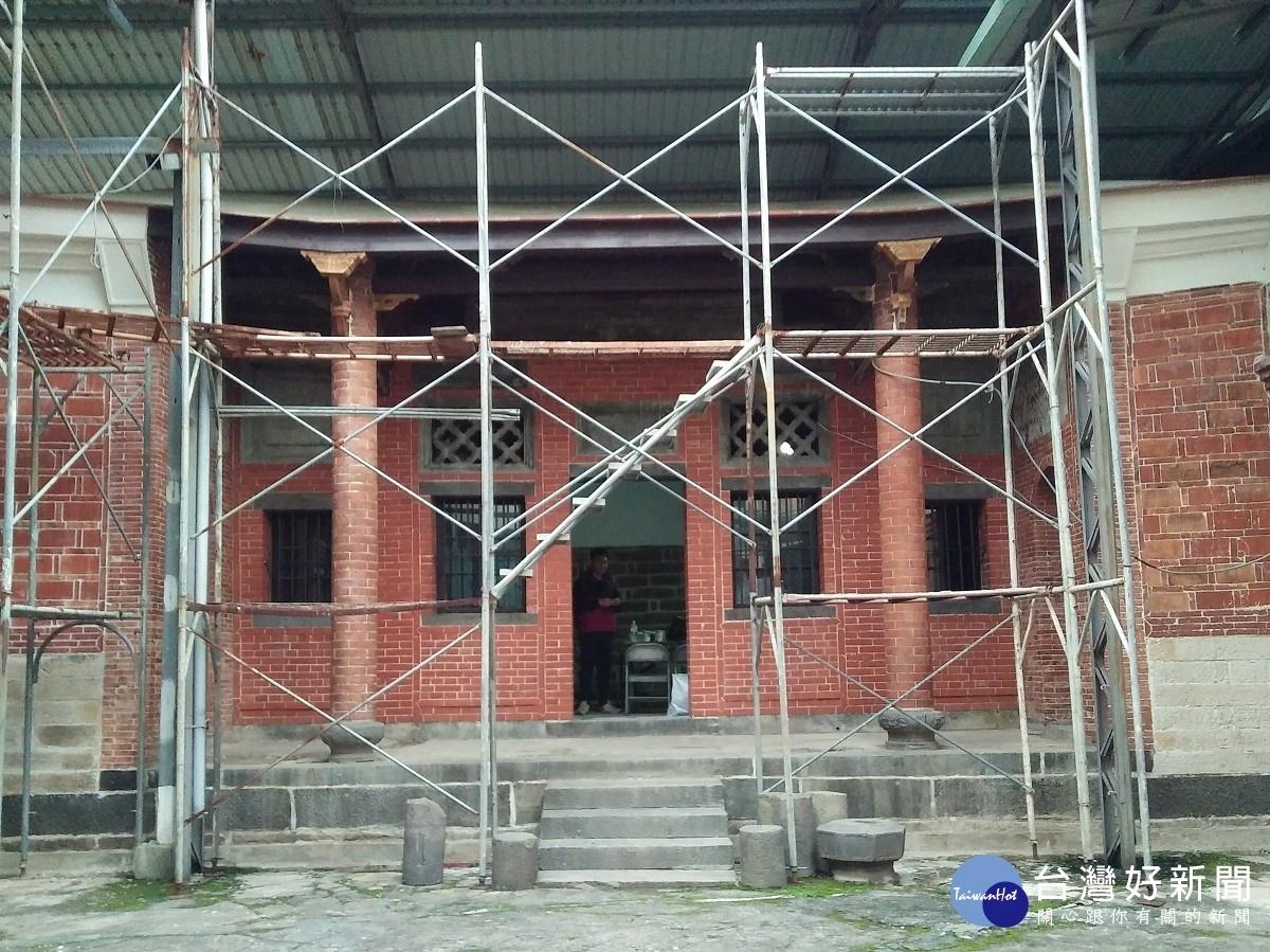 淡水施家古厝8月复工 增添新亮点促进地方观光