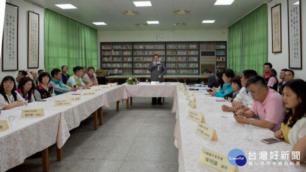 內壢國中綜合大樓新建工程 採取分階段汰舊換新
