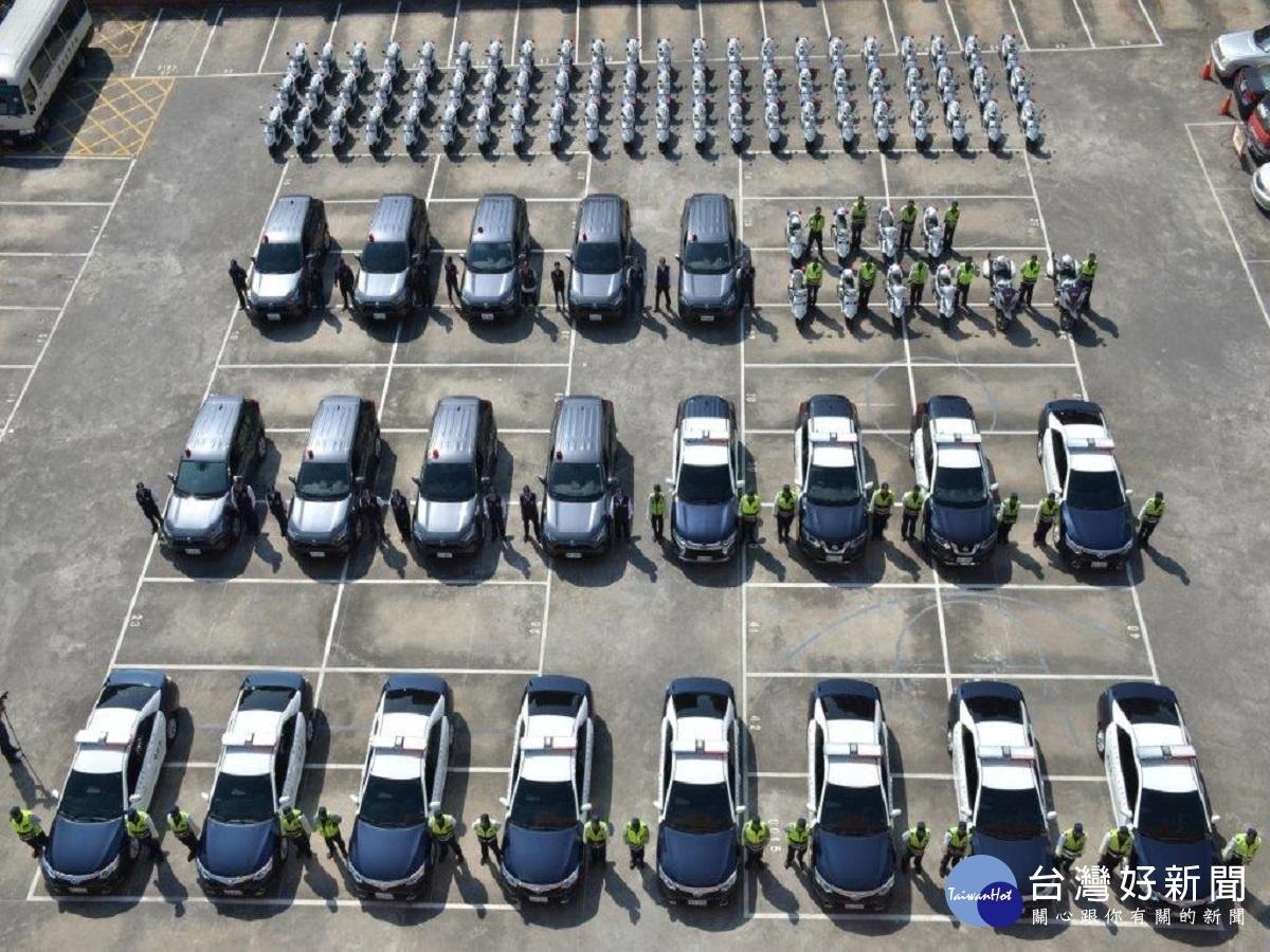 提升警方戰力 彰縣警局大採購警用車輛