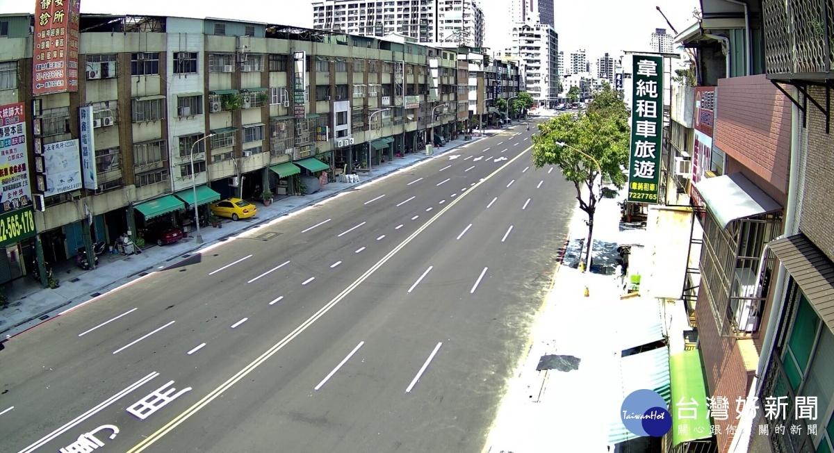 高市府積極改善道路品質,共爭取核定14案、總經費高達11.71億元。