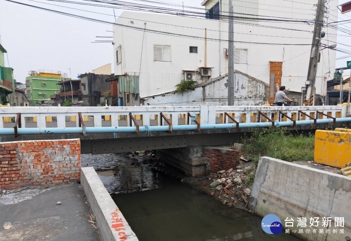 高市林園汕尾橋被列為優先拆除重建的橋樑。