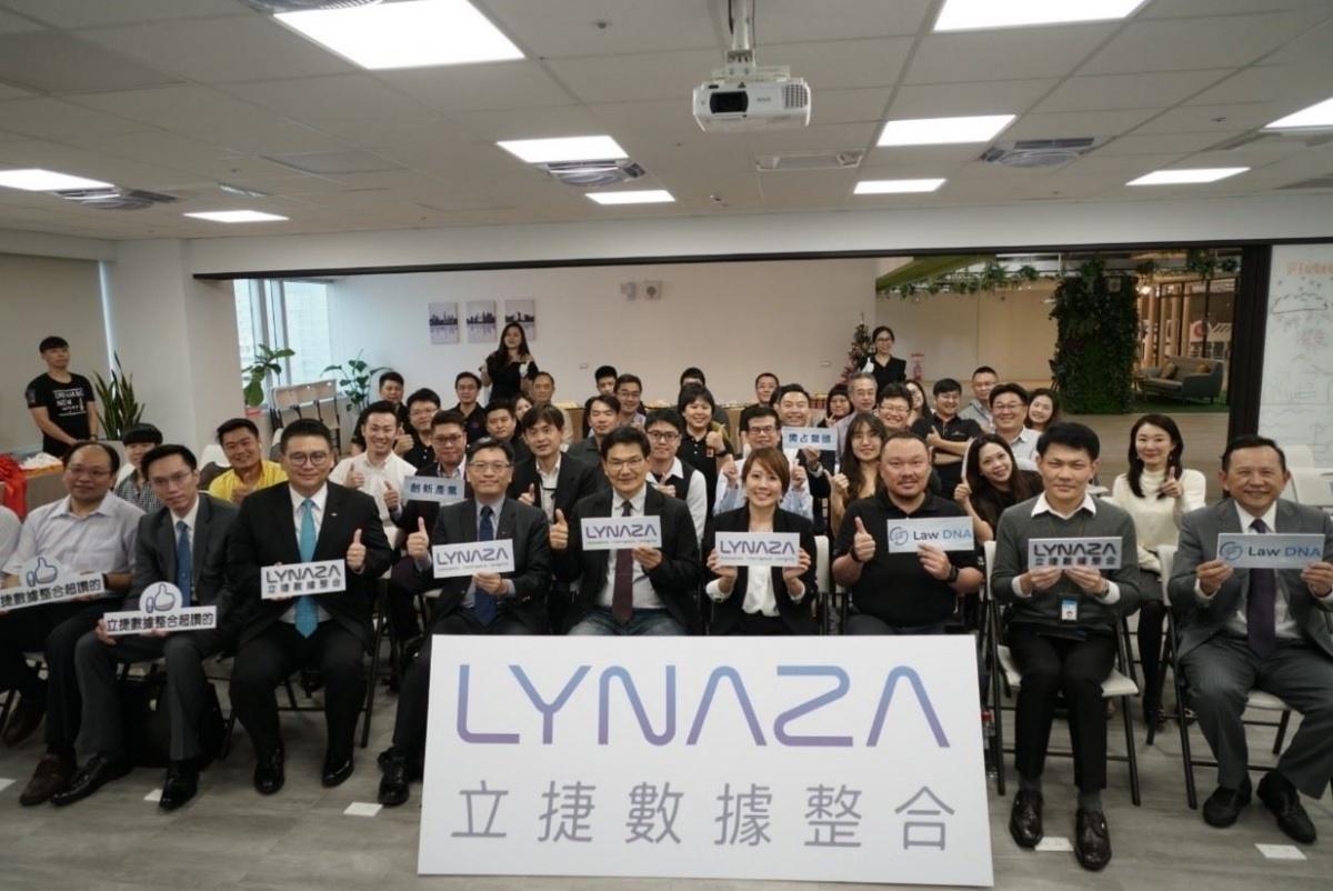 高雄KO-IN進駐廠商「立捷數據整合公司」,發表AI新產品 「LAW DNA」。