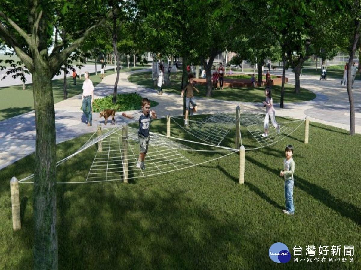 大甲鐵砧山雕塑公園二期工程分區封閉施工 預計6月底完工