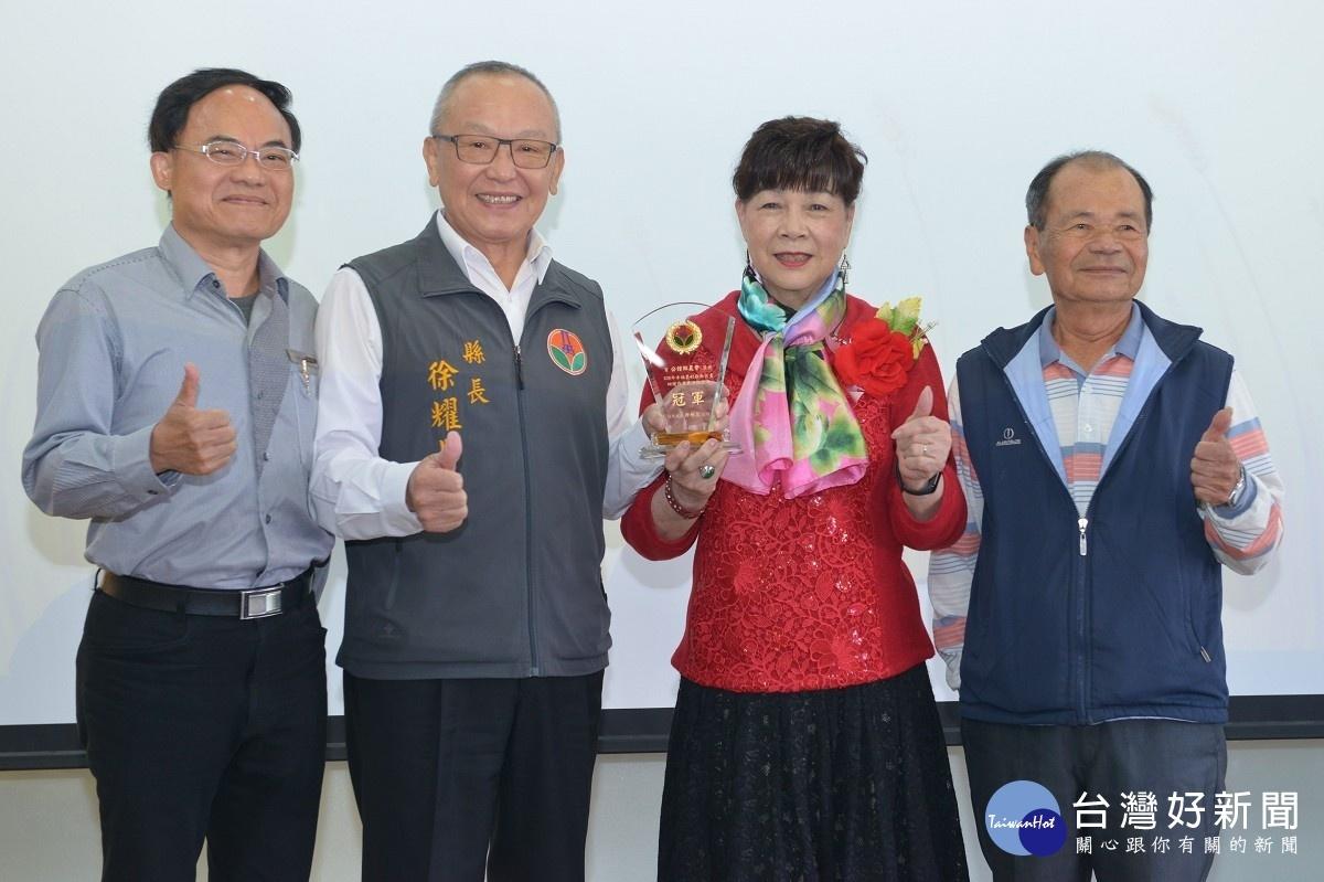 公館農會慶祝農民節 徐耀昌表揚有功人員