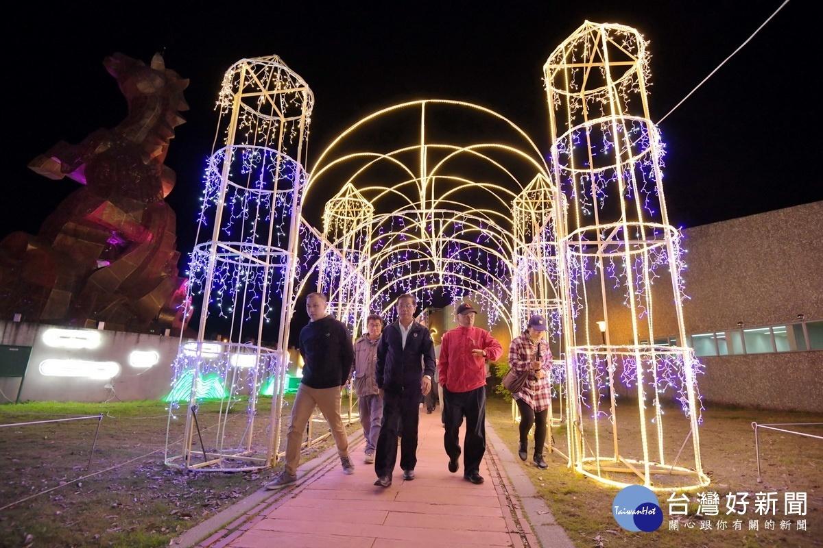 迎新年/南投灯会1/18晚间登场 试点灯15灯区齐闪亮-雪花台湾