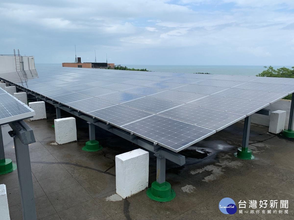 綠能屋頂新風貌 聖約翰太陽光電發電量全台大專校院第一