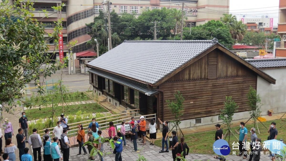 楊梅茶改場日式宿舍修復 提供在地特色休憩空間