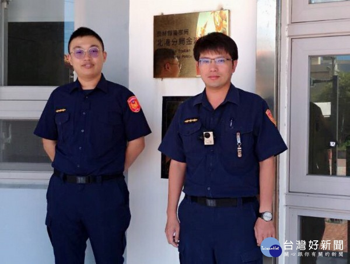 警巡邏驚聞呼救聲急叩救護車來相援LIFE生活網