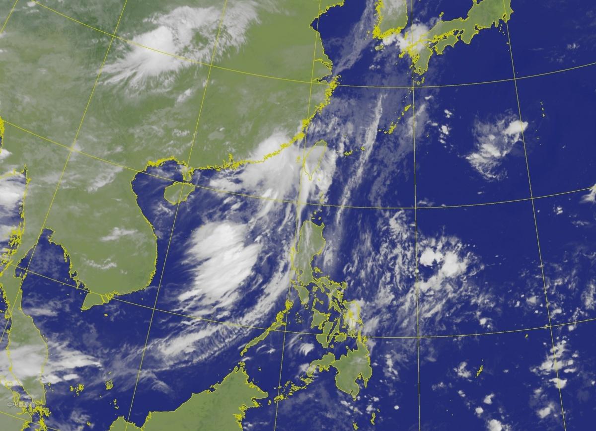 颱風外圍環流影響 南部、東南部防大雨