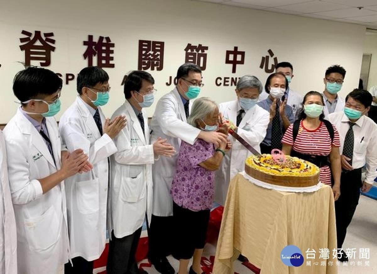 營造友善高齡社會 媽祖醫院「脊椎關節中心」揭幕
