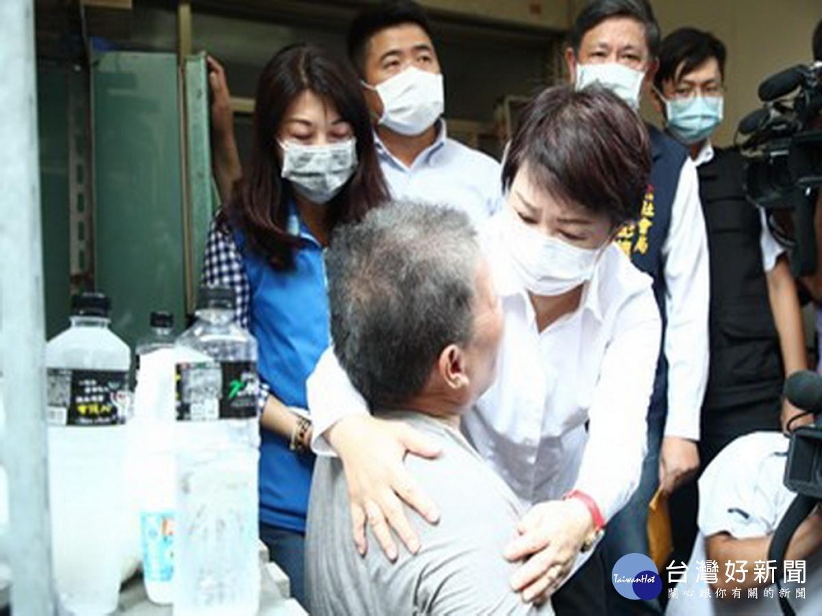 龍井區東海商圈民宅氣爆火警 盧秀燕:全力協助受難家屬