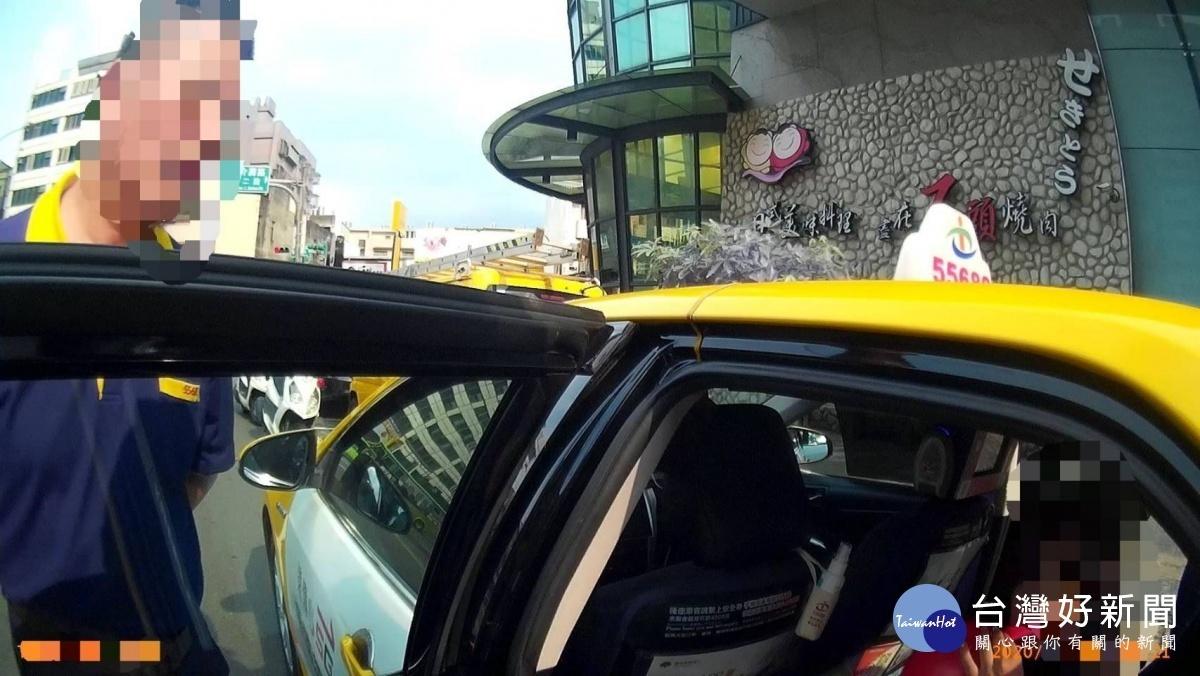 女子搭小黃吸笑氣 脫序行為警依社維法究辦