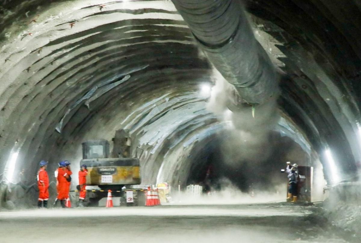 國道4號豐潭隧道全線貫通 最快2022年底接台74線可省20分車程