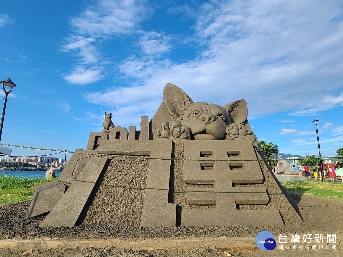 八里城市沙雕展延至11/18 把握機會觀賞視覺盛宴