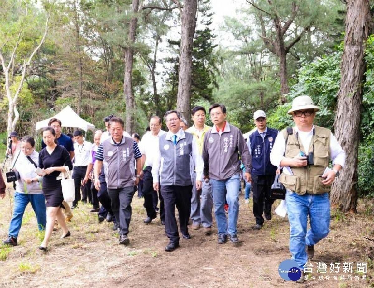 新屋濱海植物園開幕 手機APP暢遊植物園