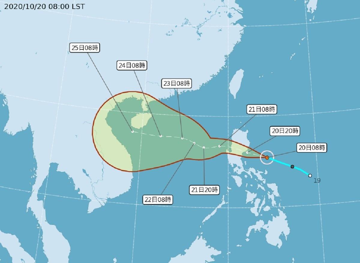 颱風「沙德爾」生成 週三留意局部大雨