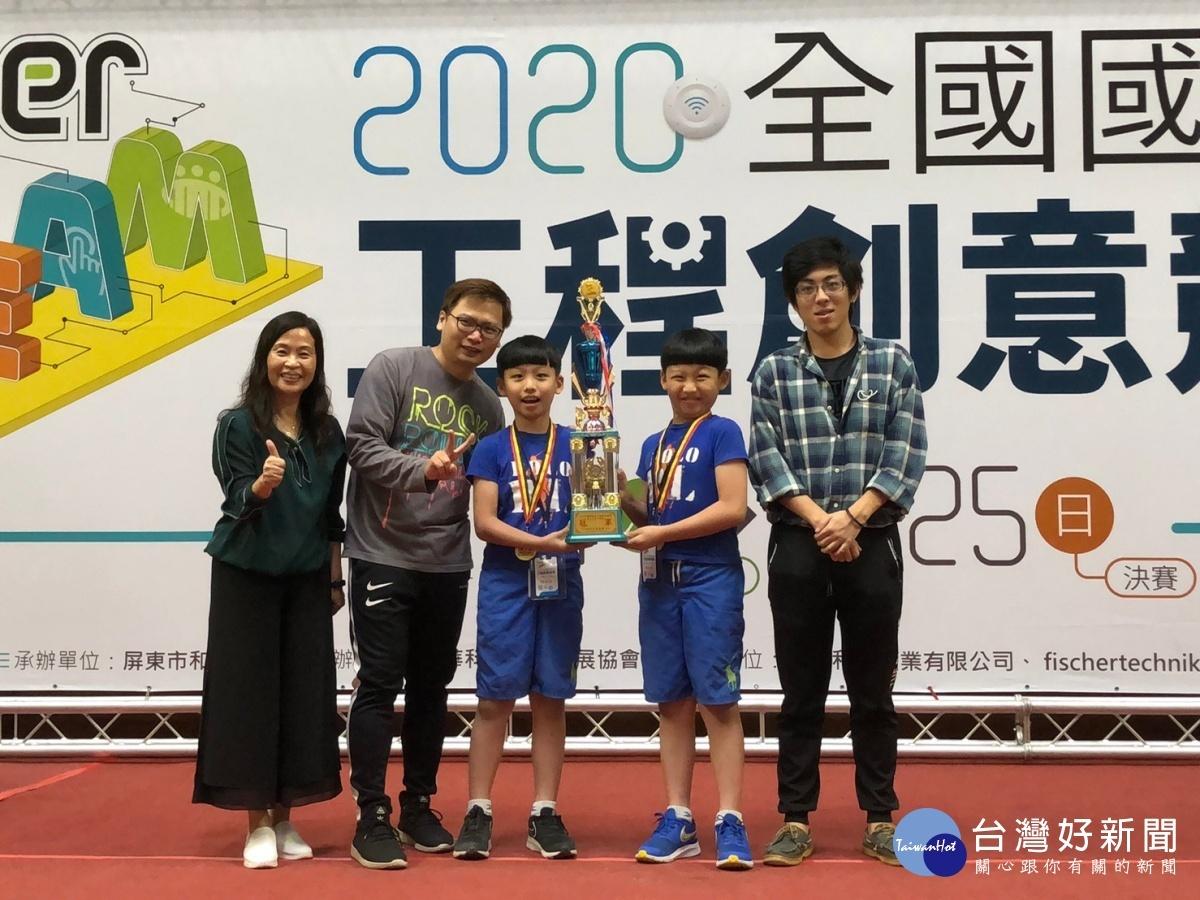北市建安國小「建安王者」隊再破國鼎盃紀錄 以最小年紀在少年組稱冠