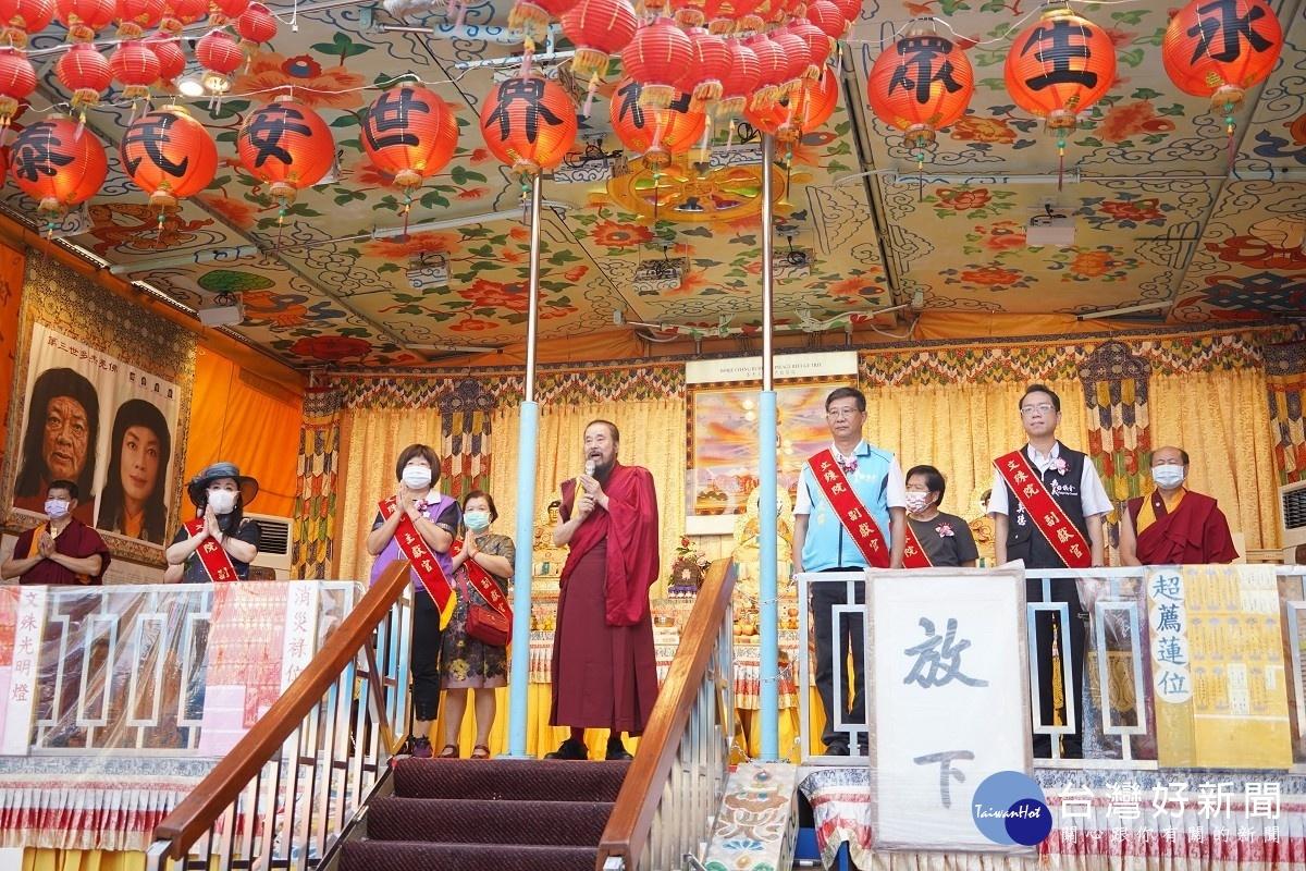 行動佛殿111站駐錫嘉義地藏庵 誦經祈福發送愛心物資