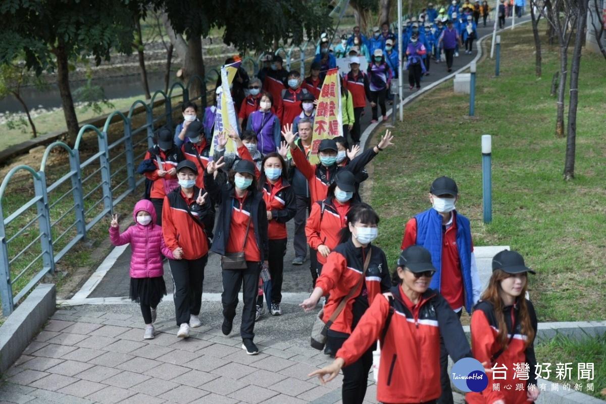 溪畔遊憩青春蘆意活動  蘆竹區水岸公園登場