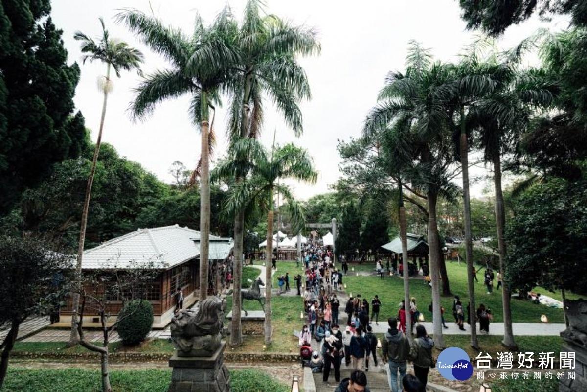 全台首場神社市集在桃園 邀市民參訪日式建築的文化慶典