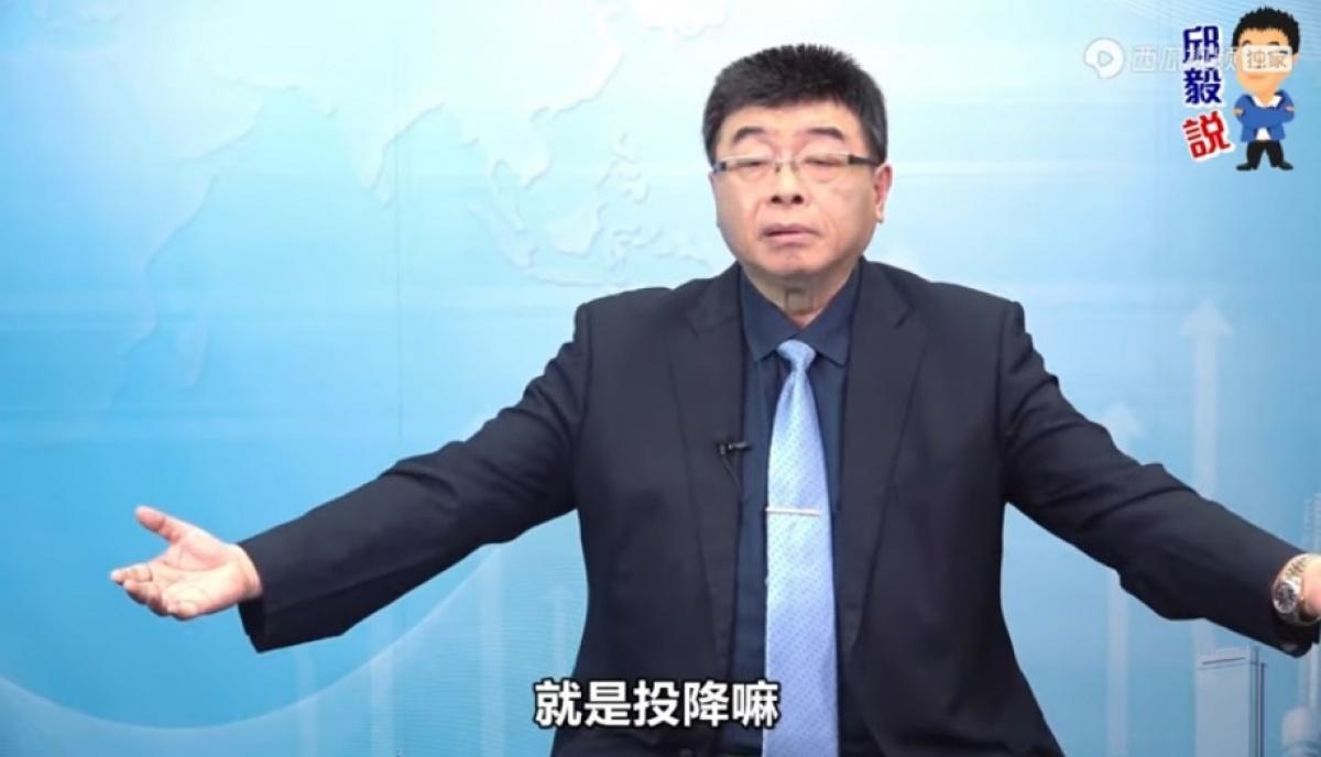 若解放軍打過來 邱毅唱衰:全台灣就是投降嘛!
