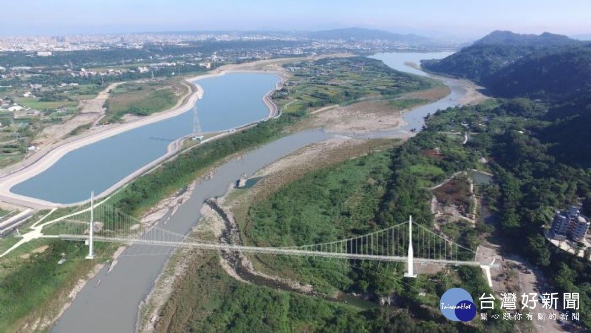 打造天空之城與跨河吊橋 大嵙崁親水園區景觀計畫動工