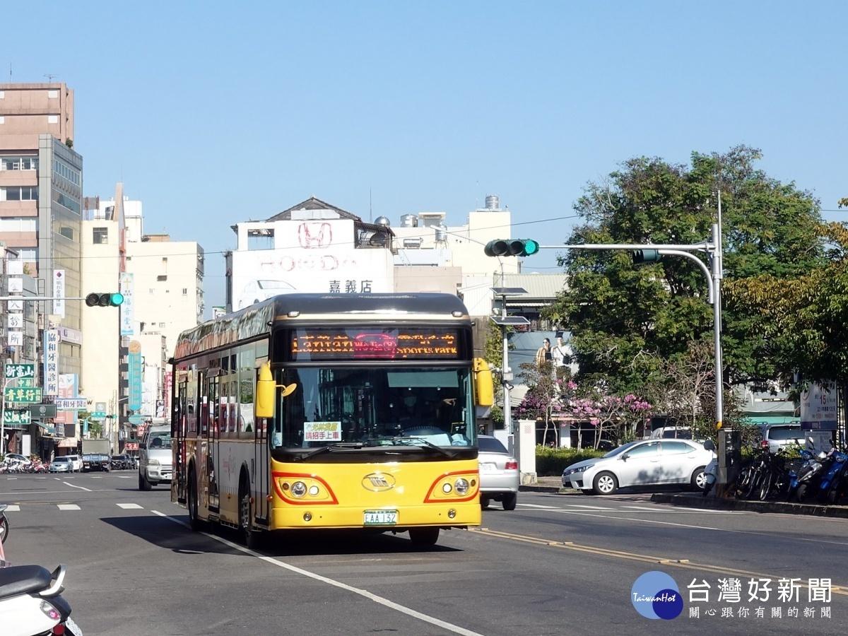 嘉市電動公車汰換率100% 電子票證免費搭乘至6/30