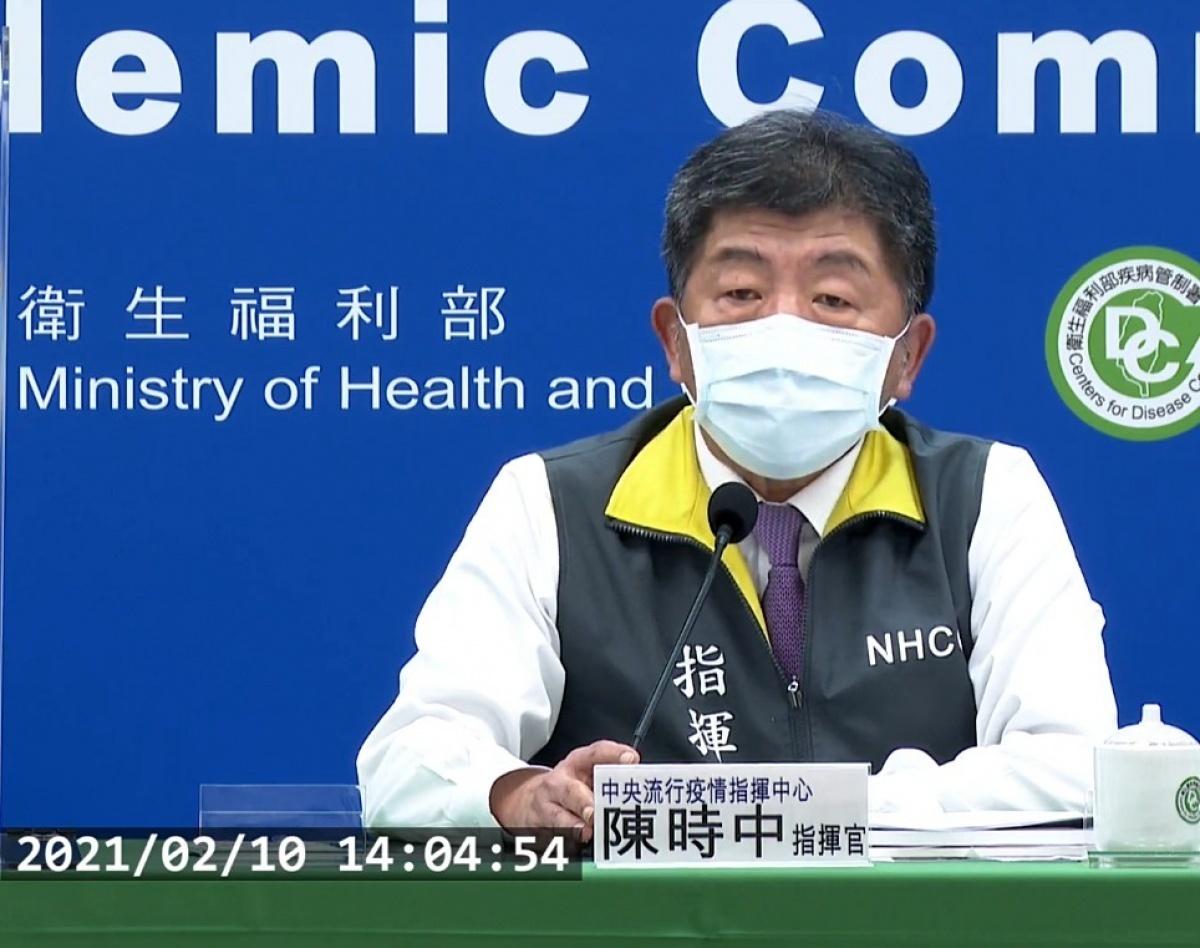 台2/10增2境外移入武肺 60多歲男性自緬搭醫療專機返台治療