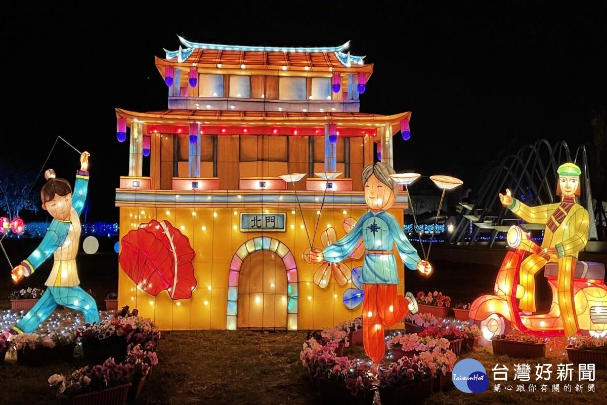 台灣燈會副燈 北門遊客中心展出