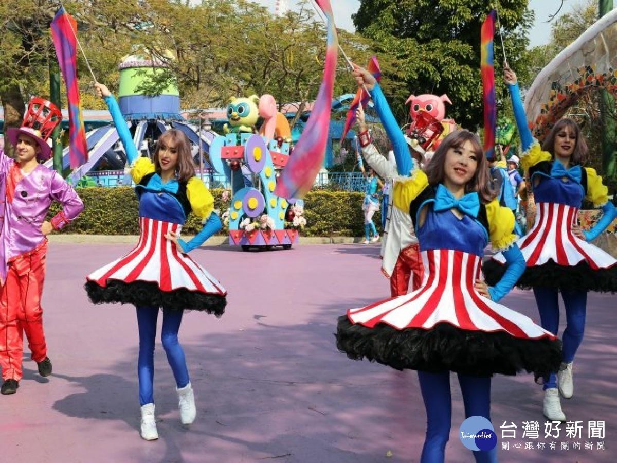 228連假麗寶樂園博幼票買一送一 免費看國際級魔幻秀