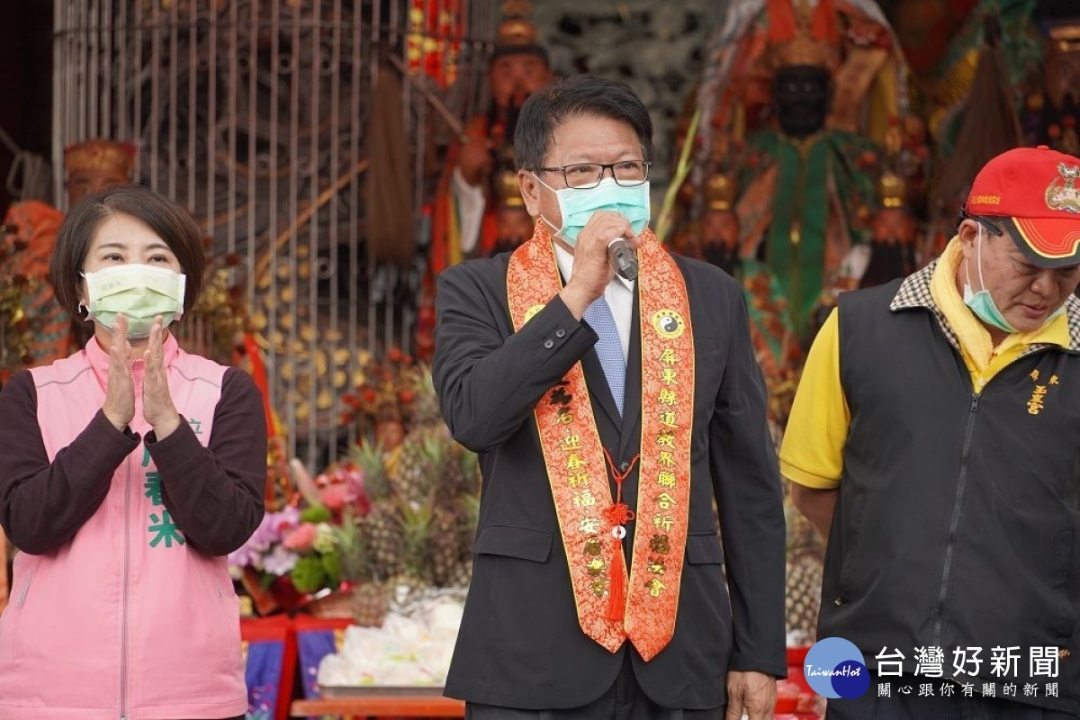 屏東各宗教團體聯合祈福 祈求國泰民安、風調雨順