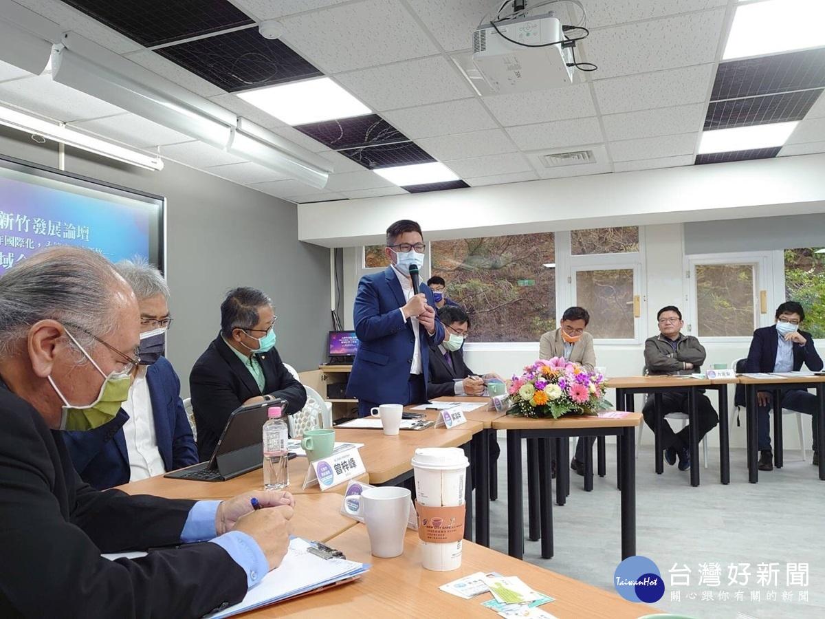 鄭宏輝發表「大新竹合作宣言」 柯建銘:得新竹者得天下