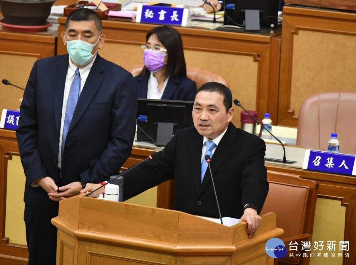 侯友宜議會施政報告 宣示明年成立青年局