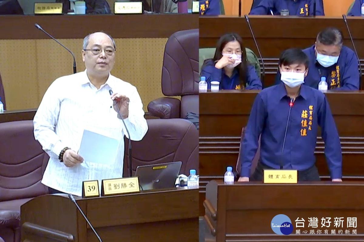 讓桃園成為永續發展城市 議員劉勝全籲建置光電球場